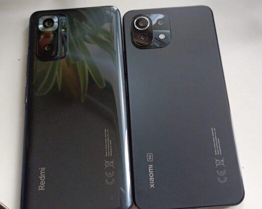 Сравнение с Redmi Note 10 Pro