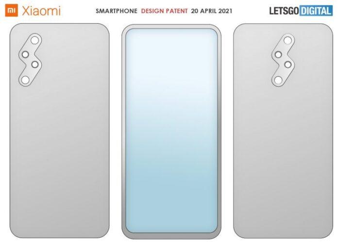Патент на новый дизайн смартфона Xiaomi