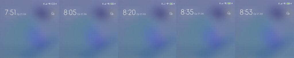 Время заряда Xiaomi Mi 11 Lite 5G