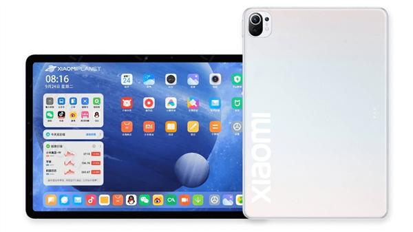 Рендеры Xiaomi Mi Pad 5