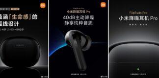 Xiaomi FlipBuds Pro станут конкурентами для Apple AirPods Pro