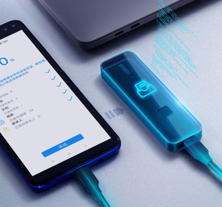 Xiaomi выпустила компактный внешний SSD со сканером отпечатков пальцев. 500 Гб от 80 $