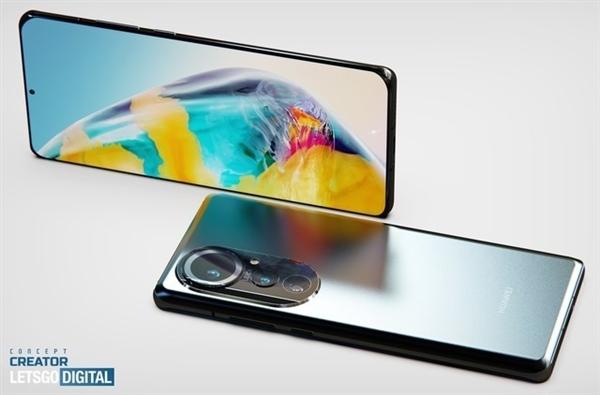 Чистая экспозиция рендеринга Huawei P50 Pro