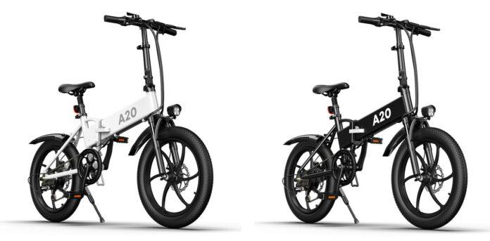 ADO представила электрический велосипед с запасом хода 80 км