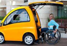 В Венгрии создали электрокар для людей с инвалидностью