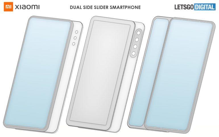 Xiaomi показала уникальный смартфон с конструкцией двойного скольжения