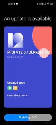 Xiaomi Mi 11 получил финальную стабильную прошивку MIUI 12.5