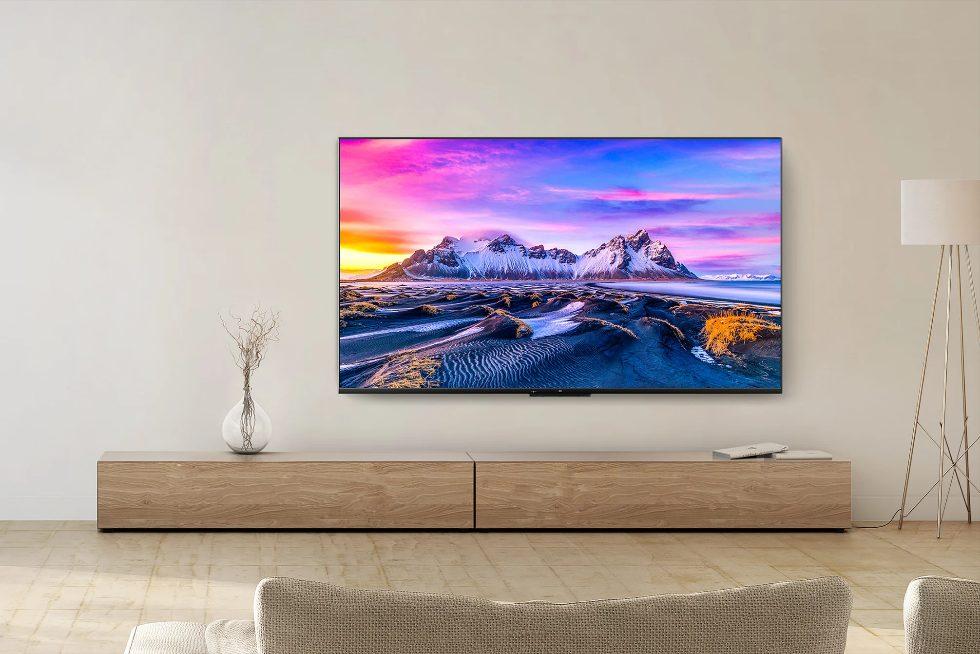 Xiaomi назвала дату продаж новых телевизоров Mi TV P1 в Европе