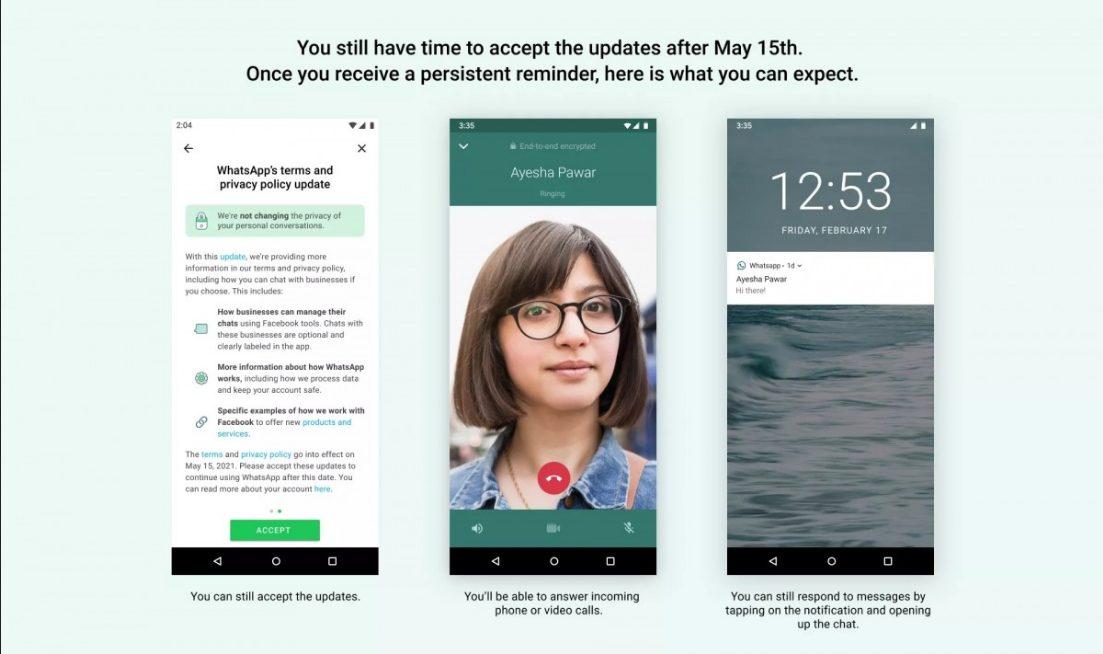 Стало известно, как WhatsApp будет принуждать абонентов к подписанию нового пользовательского соглашения