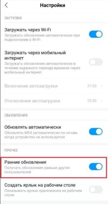 Как в смартфонах Xiaomi ускорить получение MIUI 12.5