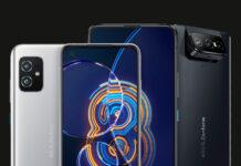 Asus ZenFone 8 и 8 Flip