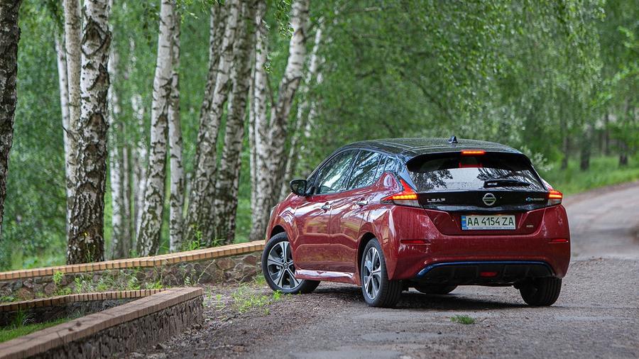 Nissan Leaf з запасом ходу 389 км дебютував в Україні за ціною майже 1 млн гривень