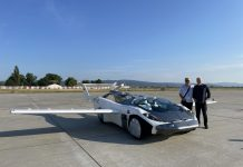 Летающий автомобиль совершил первый междугородный перелёт