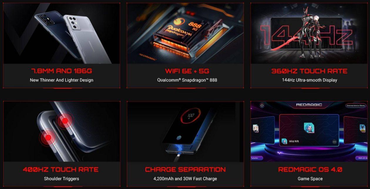 Названа цена нового игрового смартфона ZTE