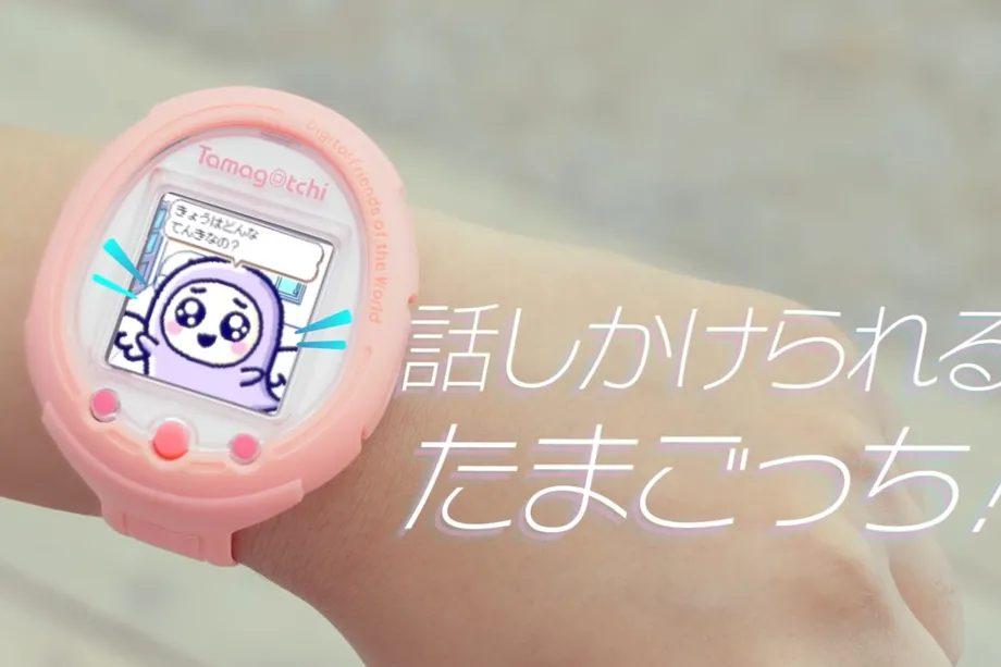 Популярный Tamagotchi обретает новую жизнь в «умных» часах