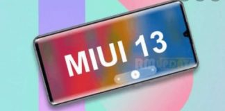 В Китае показали интерфейс MIUI 13
