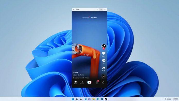 На Windows 11 можно запускать приложения для Android-смартфонов