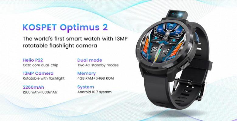 Представлены «умные» часы с поворотной камерой Sony, которые могут заменить смартфон