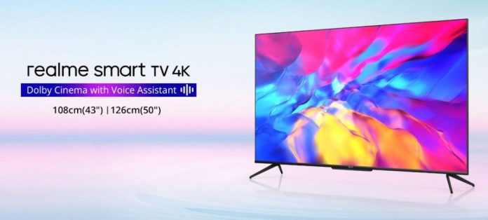 Realme подготовила два телевизора с интересными характеристиками