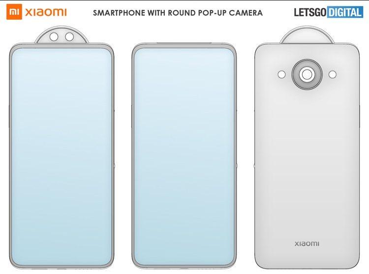 Xiaomi подготовила камеру поворотного типа, выдвигающуюся наружу за счет вращения