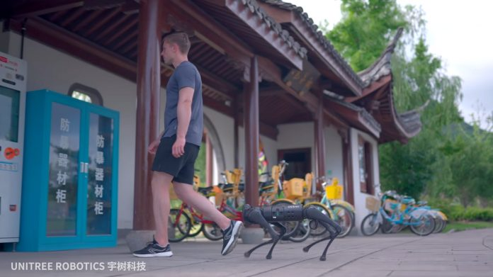 Китайский клон робопса Boston Dynamics стоит в 25 раз дешевле