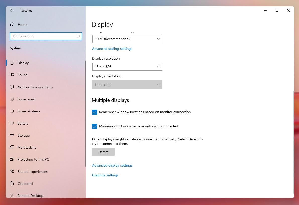 В Windows 11 появится полезная функция для работы с внешними мониторами