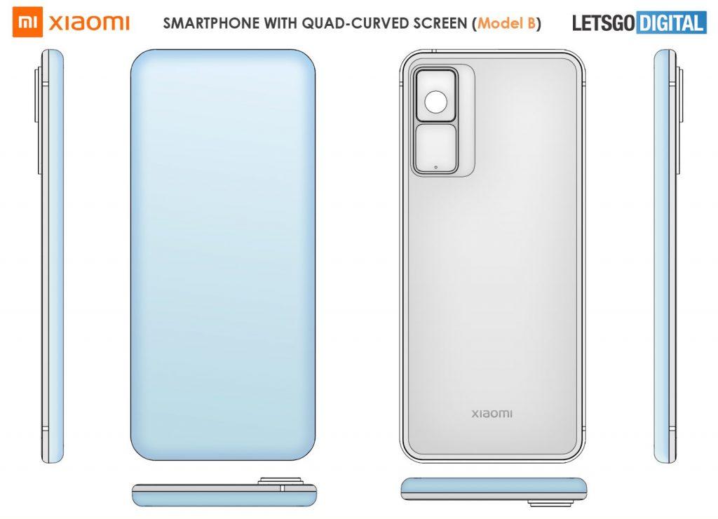 Патент на новый смартфон Xiaomi