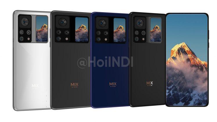 Mi MIX 4 станет самым необычным флагманом Xiaomi