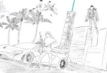 """Рисунок """"GTA6"""""""