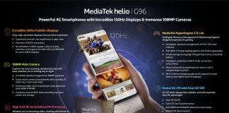 MediaTek представил чипы Helio G88 и Helio G96 для недорогих смартфонов