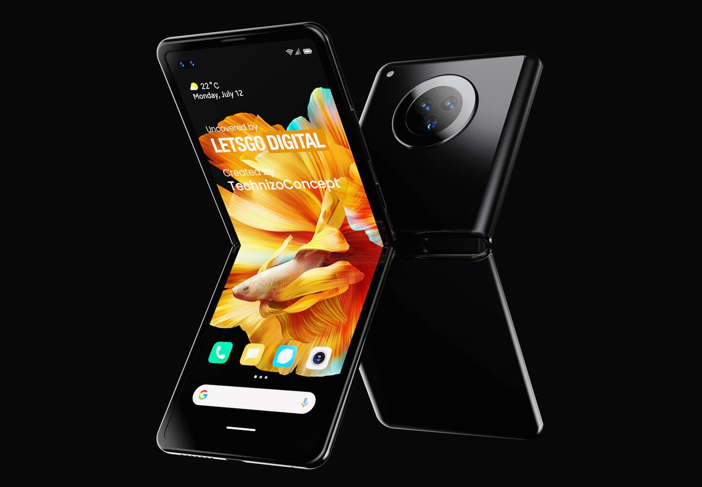 Xiaomi Mi MIX Flip: бюджетный смартфон с необычной конструкцией