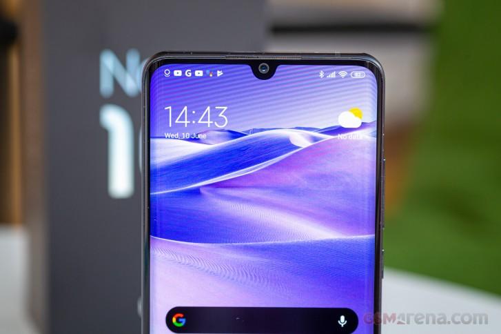 Xiaomi Mi Note 10 Lite получил MIUI 12.5 в Украине