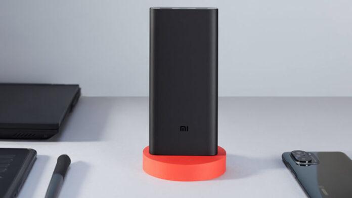 Компания Xiaomi показала пауэрбанк с двухсторонней быстрой зарядкой