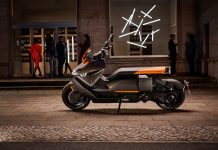BMW представила электрический скутер за 12000 евро