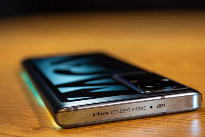 Концептуальный смартфон Infinix Concept Phone 2021 с зарядным устройством мощностью 160 Вт поступил на тестирование