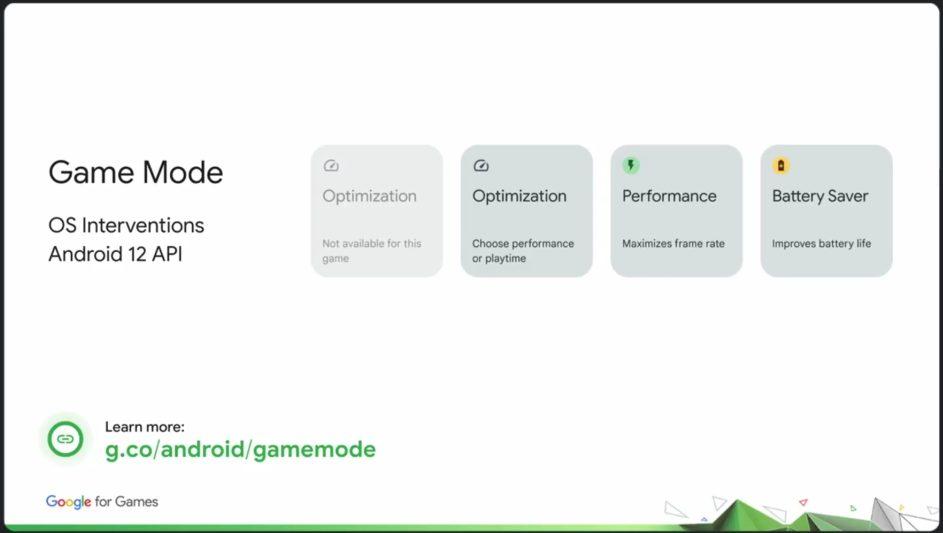 Смартфоны с Android 12 смогут заменить игровые консоли