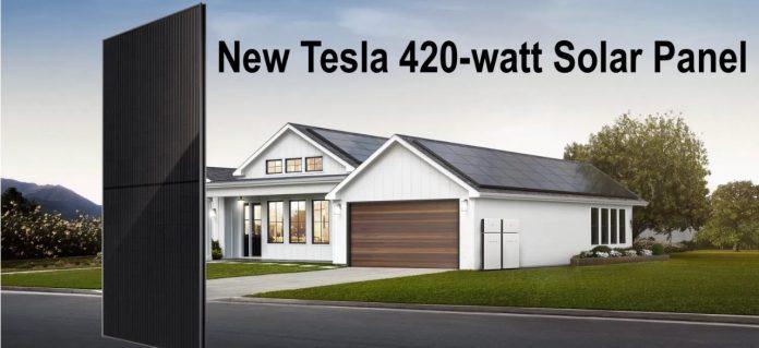 Tesla создала одну из мощнейших в истории солнечных панелей для жилых помещений