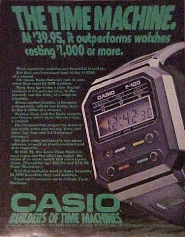 Casio возрождает культовые часы из кинофильма «Чужой»