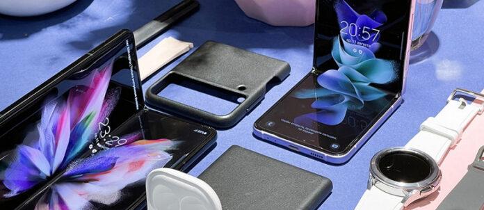 Обзавестись Galaxy Z Fold3 или Galaxy Z Flip3 можно путем обмена четырех старых устройств и доплатой
