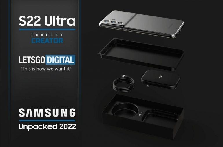 рендеры Samsung Galaxy S22