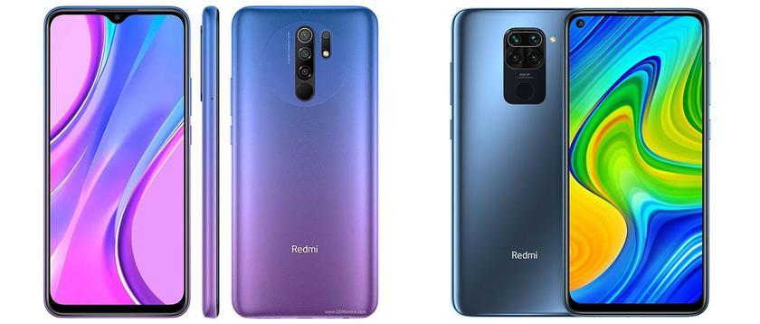 Redmi Note 9 и Redmi 9
