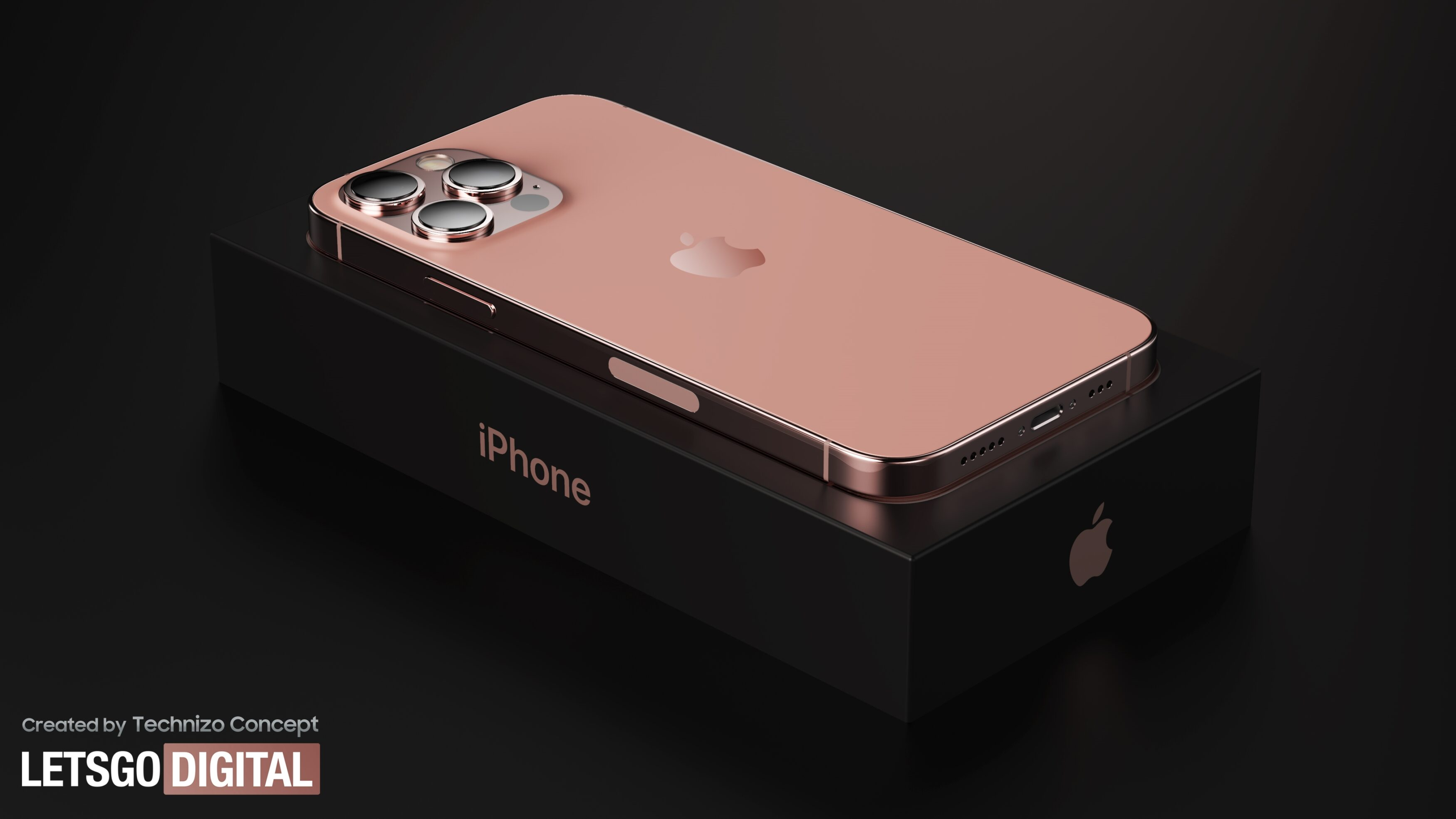 Рендеринг iPhone 13 Pro