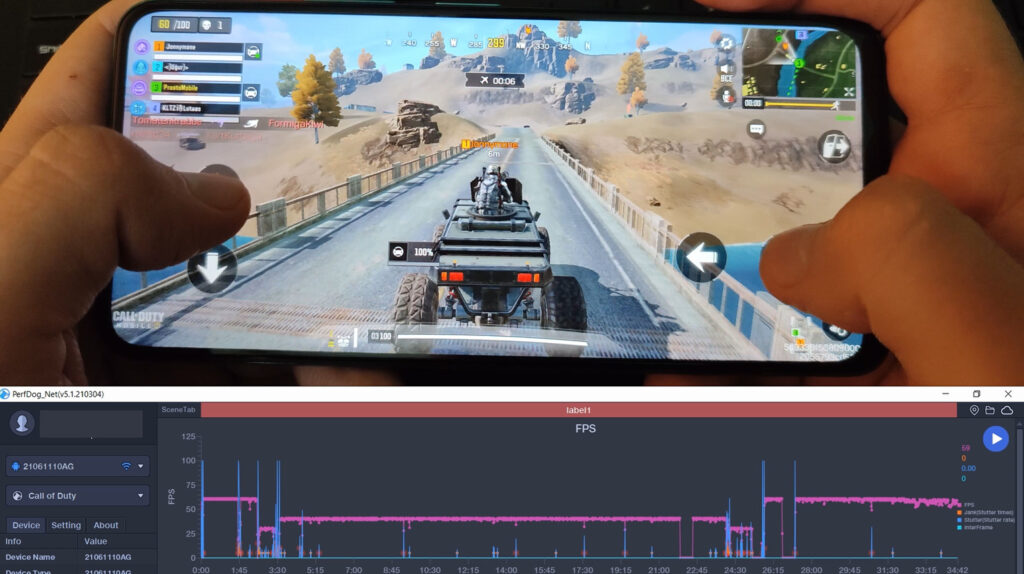 Call of Duty: Mobile FPS - Poco X3 GT