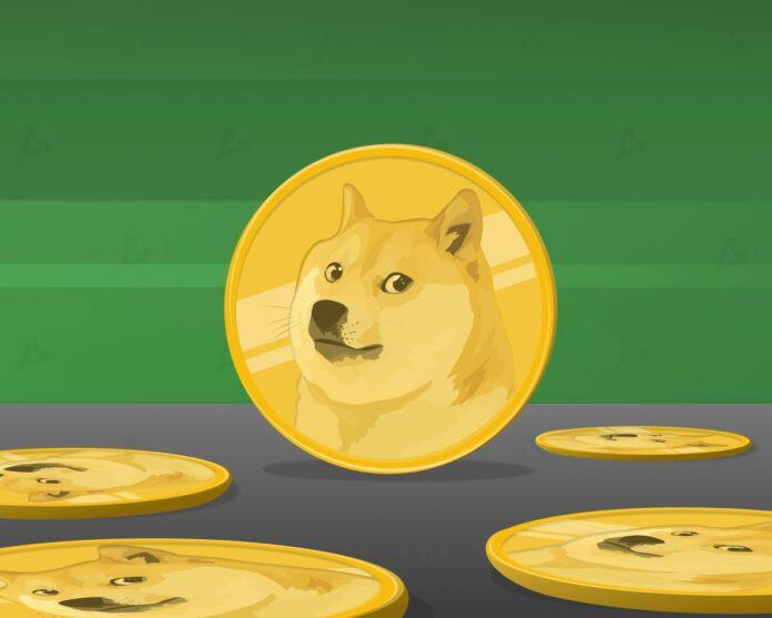 Цена Dogecoin взлетела на 17% после заявлений Марка Кьюбана и Илона Маска