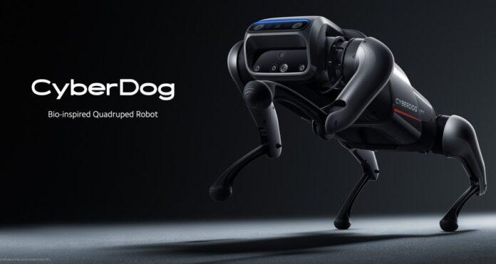 Xiaomi показали робопса CyberDog: он умеет делать сальто и подаёт «лапу»