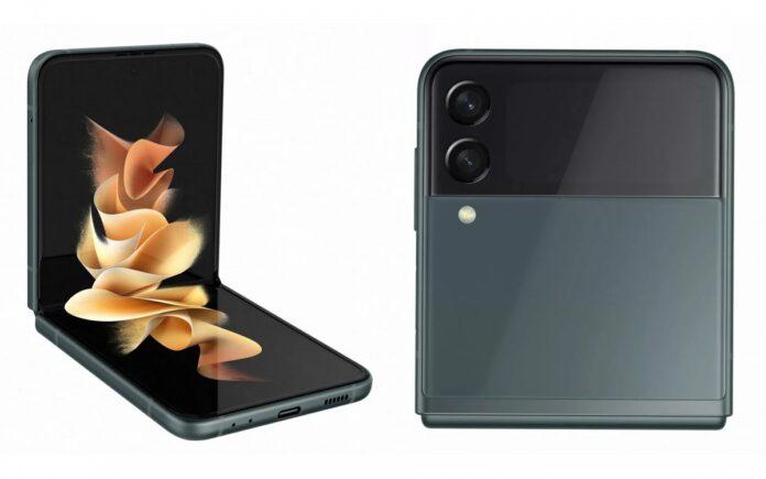 Рендеринг Samsung Galaxy Z Flip3