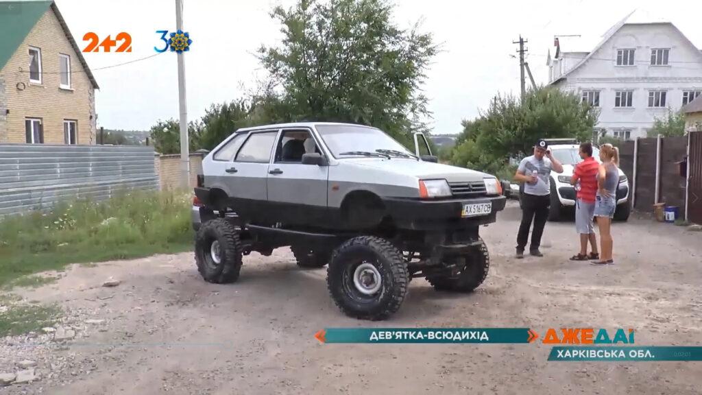 Вездеход на с кузовом ВАЗ