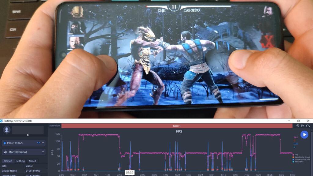 FPS игры Mortal Kombat в Poco X3 GT