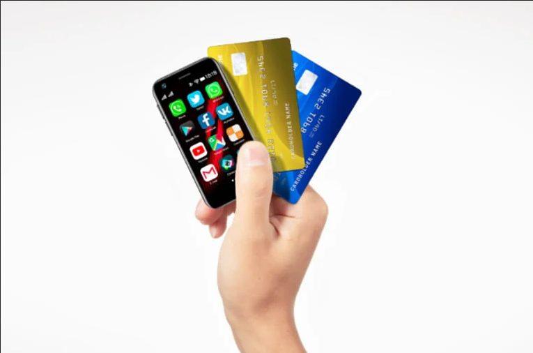 Китайский производитель комплектующих Mony презентовал 4G-смартфон размером с банковскую кредитку