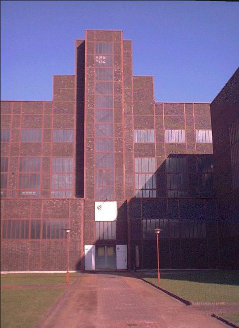 Музей дизайна Red Dot в котельной угольной шахты Zollverein
